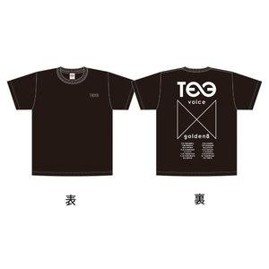 """VOICE × Golden8=∞"" ツアーT-Shirts(黒)"