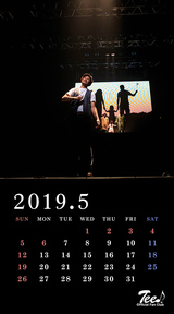 待受カレンダー 2019年5月