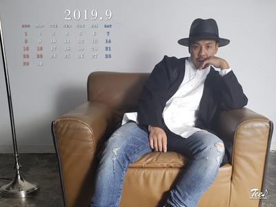 待受カレンダー 2019年9月