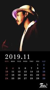 待受カレンダー 2019年11月