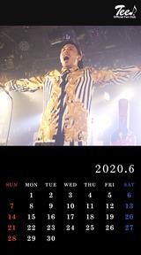 待受カレンダー 2020年6月