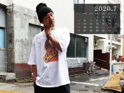 待受カレンダー 2020年7月