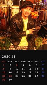 待受カレンダー 2020年11月