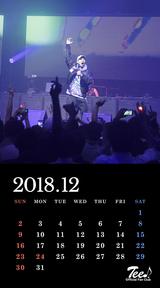 待受カレンダー 2018年12月